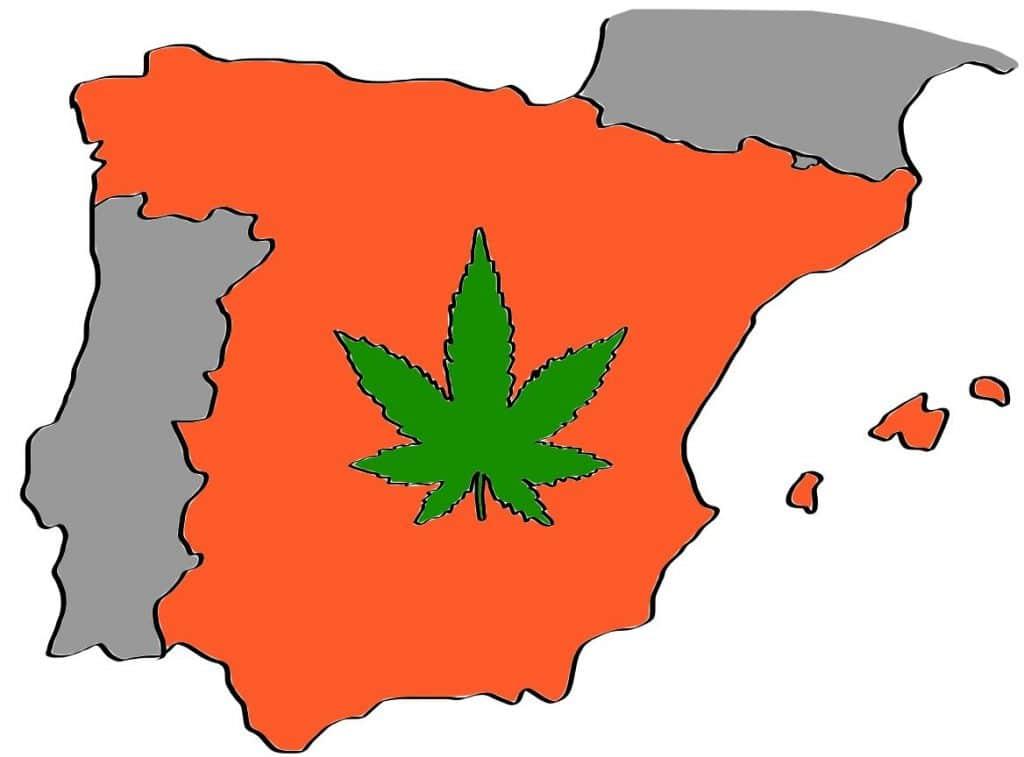 is weed legal in spain