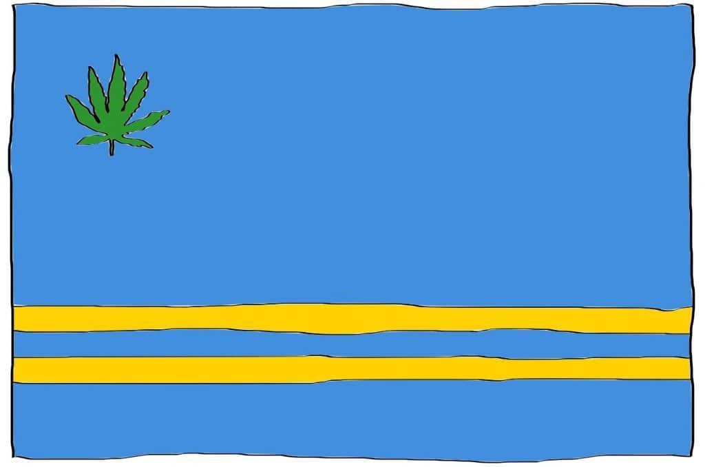 is marijuana legal in Aruba