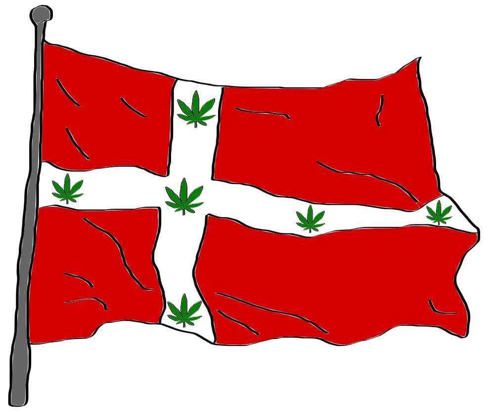 is marijuana legal in Denmark