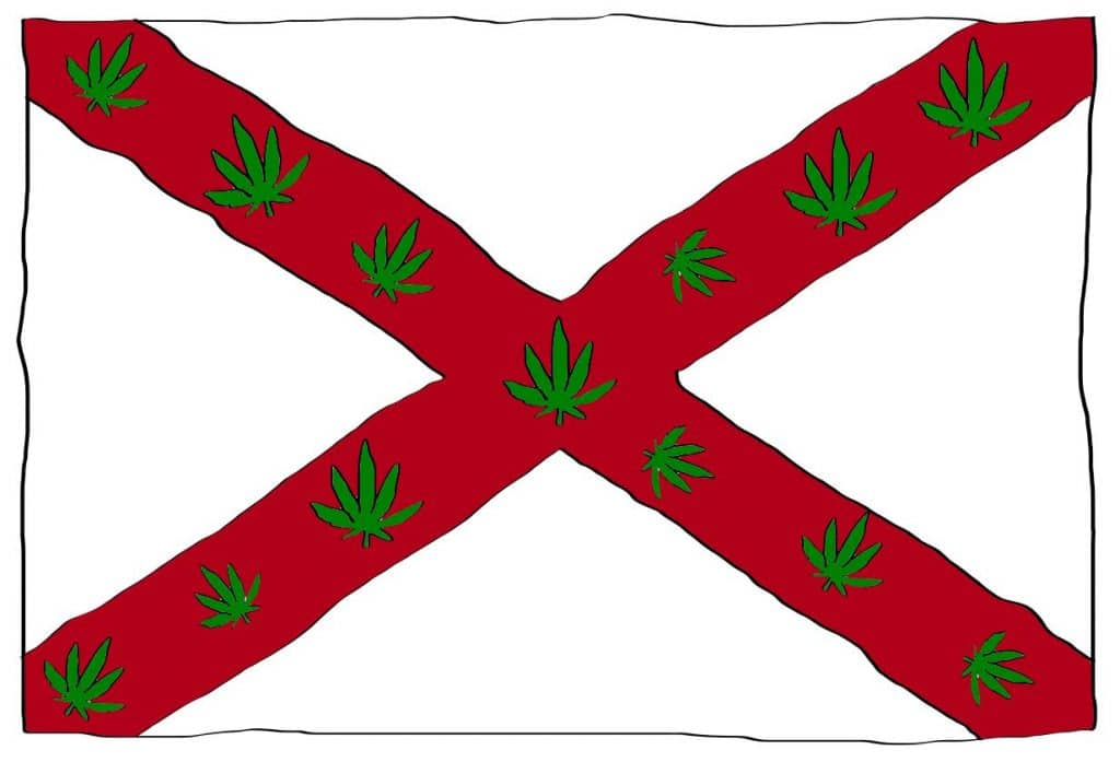 is weed legal in Alabama