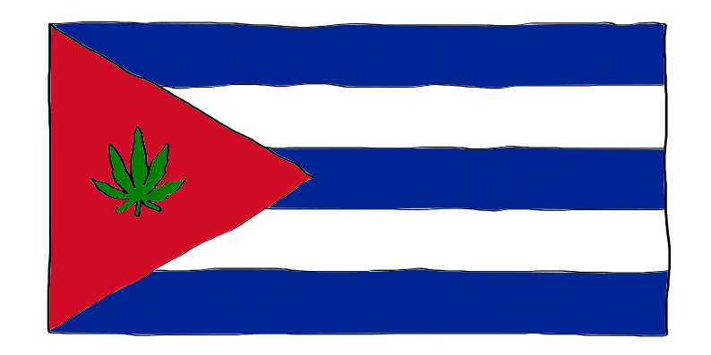 is weed legal in Cuba